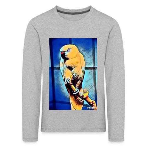 Bird in color - Lasten premium pitkähihainen t-paita