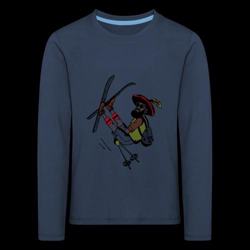 Freestyler mit Lederhosen - Maglietta Premium a manica lunga per bambini