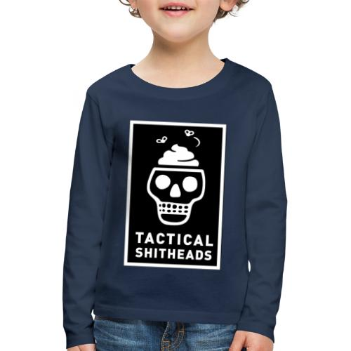 Tacshit Shitheadskull - Kinder Premium Langarmshirt