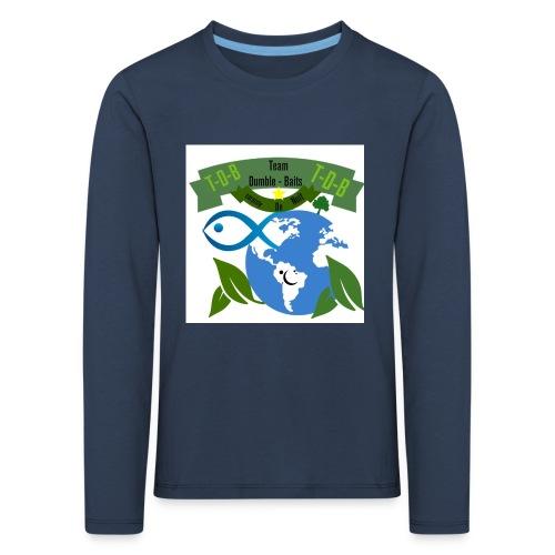logo dumble baits - T-shirt manches longues Premium Enfant