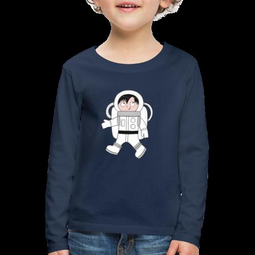Astronaut - Kinder Premium Langarmshirt