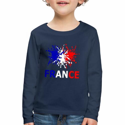 France - red white blue - Kids' Premium Longsleeve Shirt