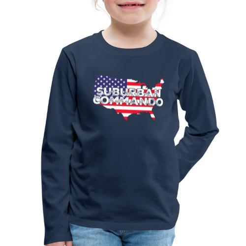 suburban commando - Kinder Premium Langarmshirt