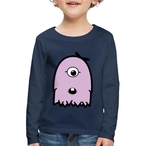 Furly Lila - Kinder Premium Langarmshirt