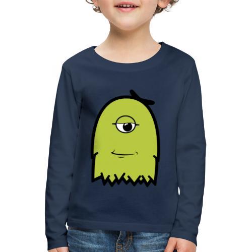 Furly Green - Kinder Premium Langarmshirt