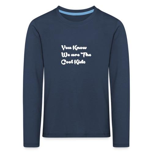 Cool kids - Långärmad premium-T-shirt barn