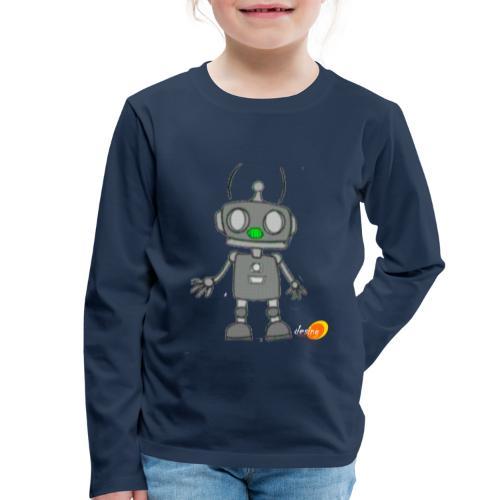 Robotino de desing impact - Camiseta de manga larga premium niño