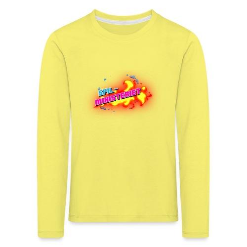Spilministeriet - Børne premium T-shirt med lange ærmer