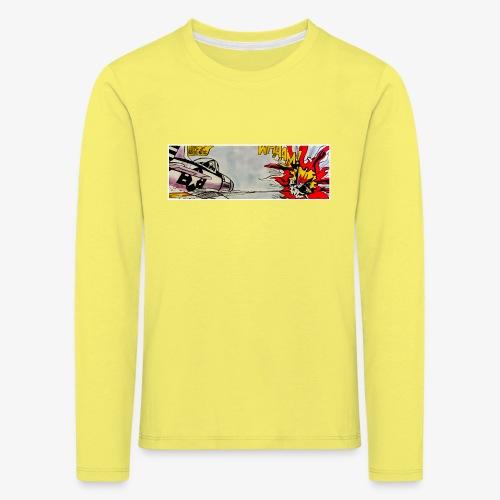ATOX - Maglietta Premium a manica lunga per bambini