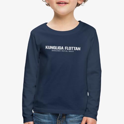 Kungliga Flottan - Swedish Royal Navy - Långärmad premium-T-shirt barn