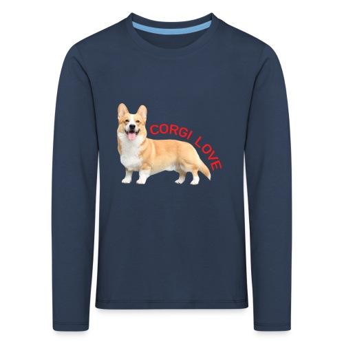 CorgiLove - Kids' Premium Longsleeve Shirt