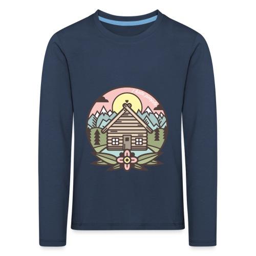 i hate people casa in montagna - Maglietta Premium a manica lunga per bambini