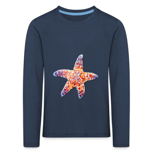 Seestern - Kinder Premium Langarmshirt
