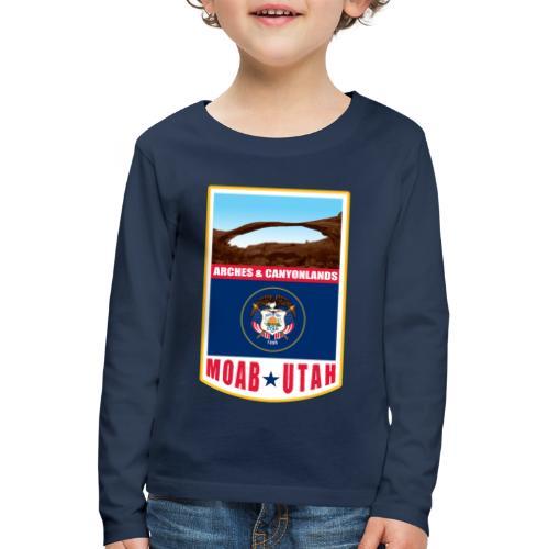Utah - Moab, Arches & Canyonlands - Kids' Premium Longsleeve Shirt