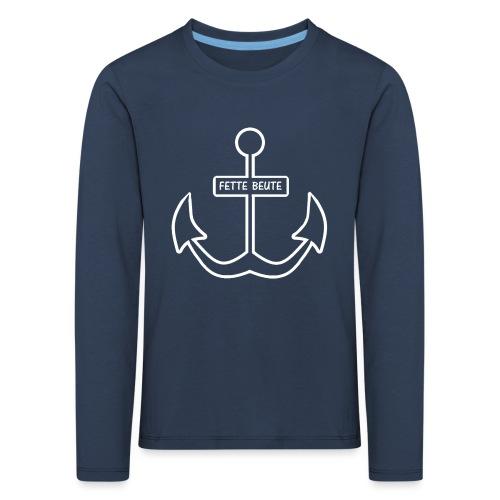 Anker-T-Shirt für Nachwuchspiraten - Kinder Premium Langarmshirt