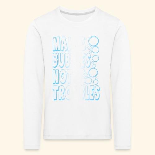 Bubbles001 - Kinderen Premium shirt met lange mouwen