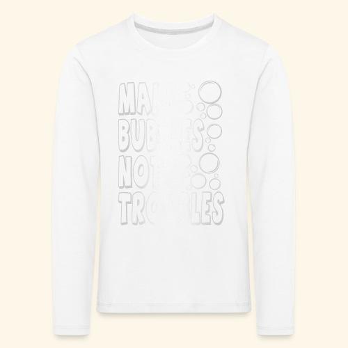 Bubbles003 - Kinderen Premium shirt met lange mouwen