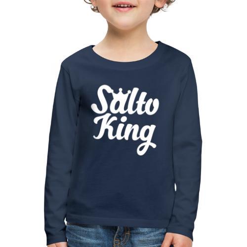 Kunstturnen T-Shirt Geschenk turnen Geräteturnen - Kinder Premium Langarmshirt