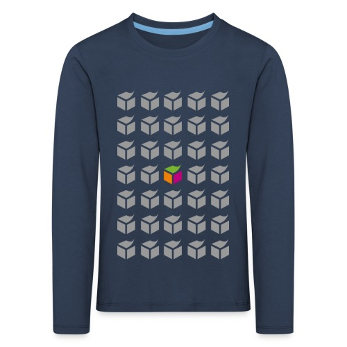 grid semantic web - Kids' Premium Longsleeve Shirt
