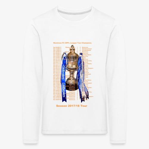 Montrose League Cup Tour - Kids' Premium Longsleeve Shirt