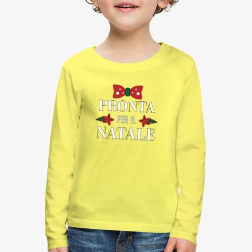 Il regalo di Natale perfetto - Maglietta Premium a manica lunga per bambini