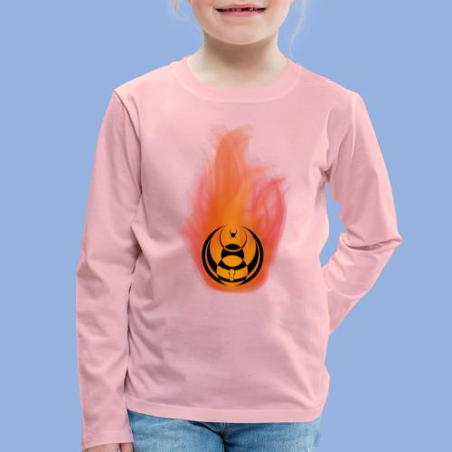 Seven nation army Fire - T-shirt manches longues Premium Enfant