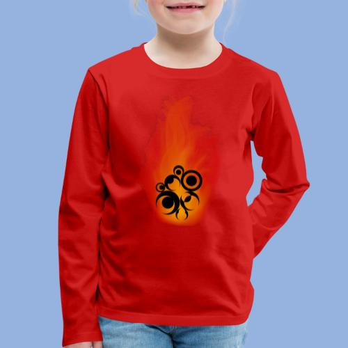 Should I stay or should I go Fire - T-shirt manches longues Premium Enfant