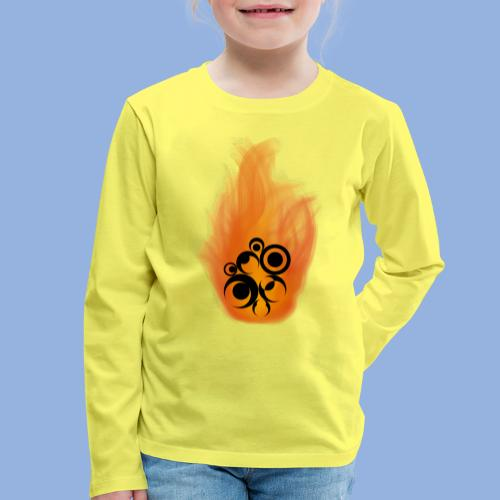 Should I stay or should I go Fire - T-shirt manches longues Premium Enfant