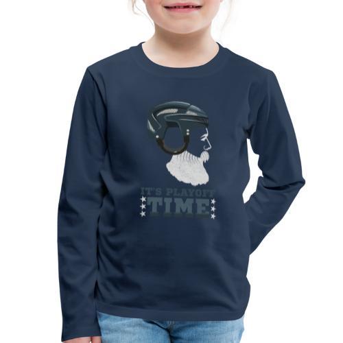 Lustiges Cooles Eishockey Geschenk Eishockeyspiele - Kinder Premium Langarmshirt