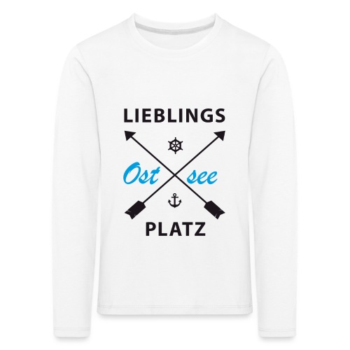 Lieblingsplatz Ostsee - Kinder Premium Langarmshirt