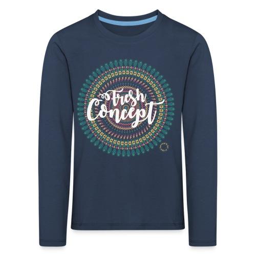 Fresh Concept Mandala - T-shirt manches longues Premium Enfant