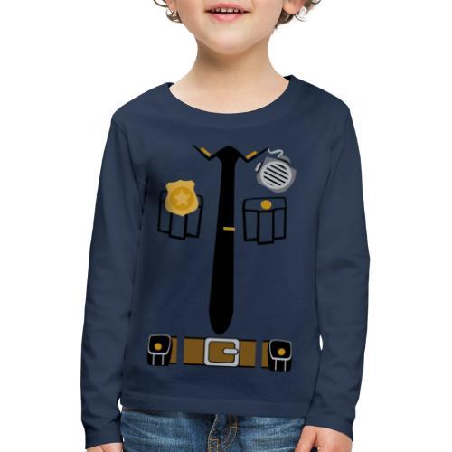 Police Patrol Costume - Kids' Premium Longsleeve Shirt