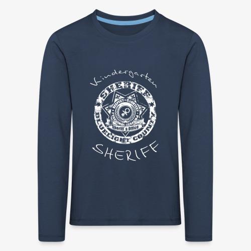 kindergarten sheriff - Kinder Premium Langarmshirt