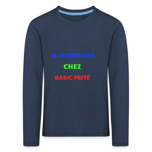 Basic Frite - T-shirt manches longues Premium Enfant