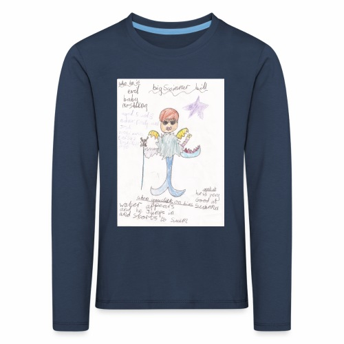 Big Swimmer Bill DHIRT - Kids' Premium Longsleeve Shirt