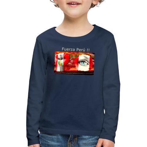 Telar Fuerza Peru I - Kids' Premium Longsleeve Shirt