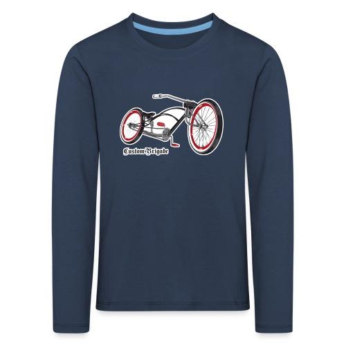 velo02 transparent - T-shirt manches longues Premium Enfant