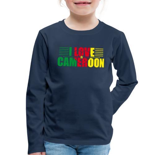 love cameroun - T-shirt manches longues Premium Enfant