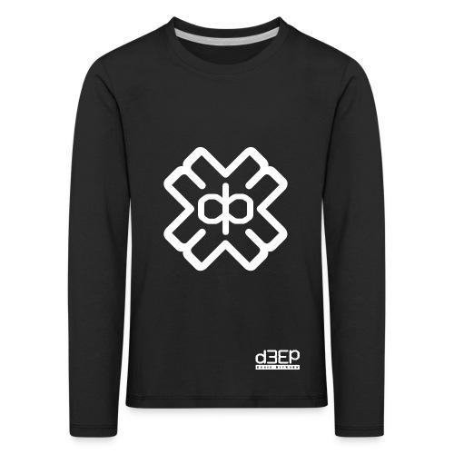 July D3EP Blue Tee - Kids' Premium Longsleeve Shirt