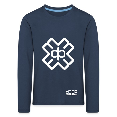 July D3EP Blue Tee - Kids' Premium Longsleeve Shirt