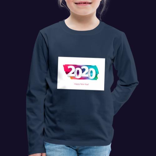 Happy new year 2020 - Kinder Premium Langarmshirt