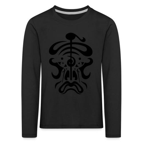mask black - Kids' Premium Longsleeve Shirt