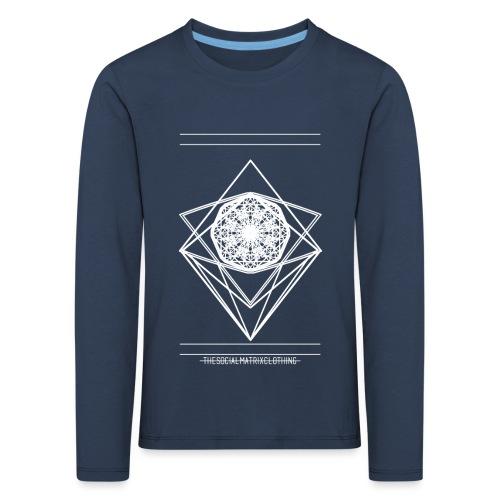 VISION [WHITE] - Kinderen Premium shirt met lange mouwen