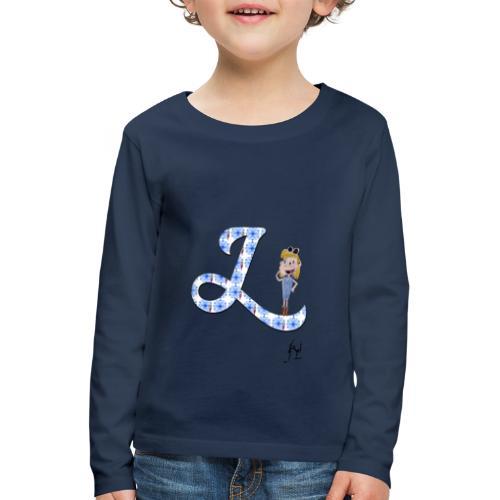 L comme Lumineuse - T-shirt manches longues Premium Enfant