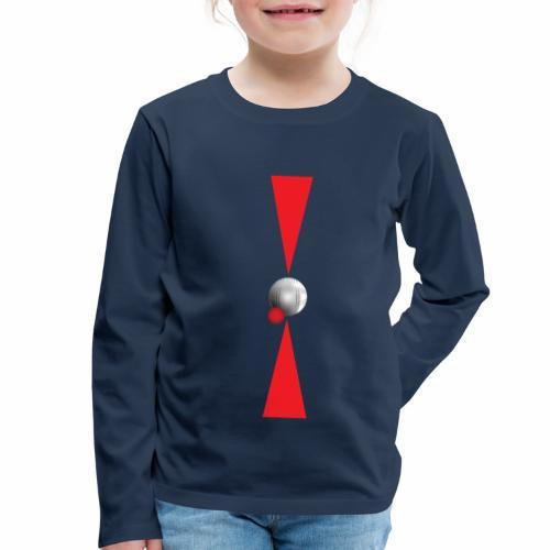 Petanque Minimalisme - T-shirt manches longues Premium Enfant