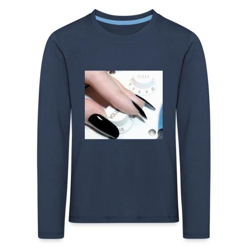 Gothic guitar girl - Koszulka dziecięca Premium z długim rękawem