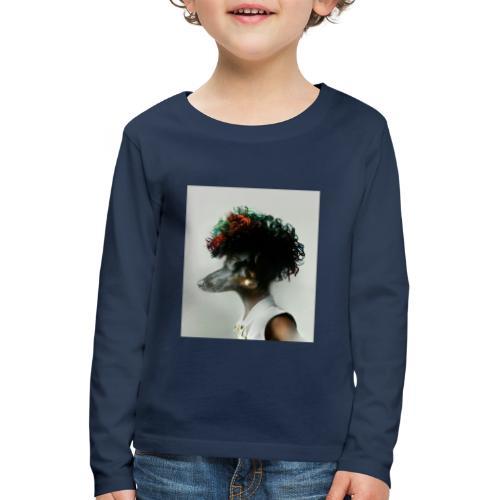 pini punk - Kinder Premium Langarmshirt