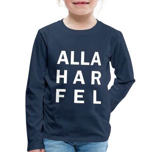 Alla har fel - Långärmad premium-T-shirt barn