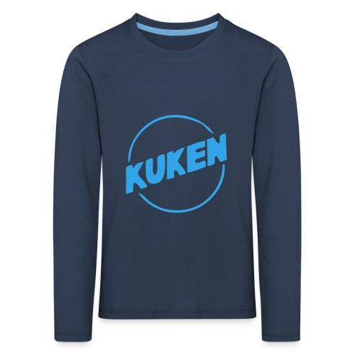 Kuken - Långärmad premium-T-shirt barn