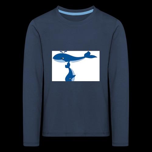 whale t - Kids' Premium Longsleeve Shirt